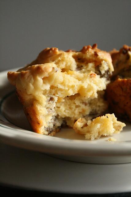 Cheddar Sausage Muffins.