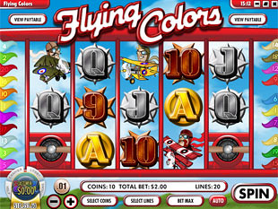 Flying Colors slot game online review