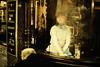 Alone [Alcools] (Chris JL) Tags: uk woman color reflection london window angel night fun iso3200 photo pub alone quality candid famous streetphotography oldman tradition reverie btlc photoderue spnp alcools photographiederue glacing fotografíadecalle fotografiadistrada nikkor50mmf14g nikond3s chrisjl