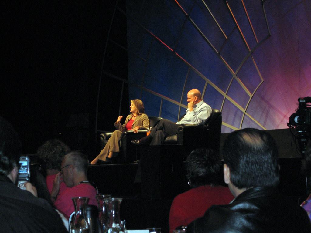 Microsofts CEO Steve Balmer