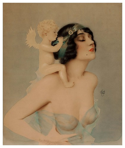 010-Alberto Vargas-sin fecha-Ziegfeld Girl with Angel