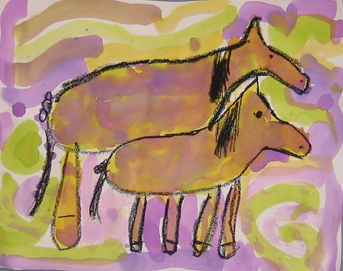 Horses, by Elsa