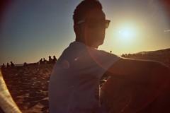 .Universe (Paula Mc Allister) Tags: light sunset summer sky people sun love film luz sol beach boyfriend argentina atardecer concert buenosaires pentax pareja amor recital playa shore cielo verano analogue universe mardelplata orilla novio universo mgmt