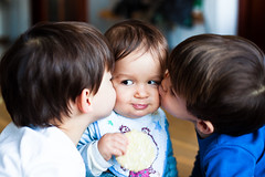 Brotherly love (Cℓea tecℓea) Tags: noah love kiss teo kai brotherly gettyimagesspainq1
