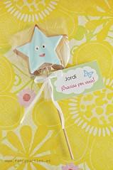 "Star Cookie Pop ""Dora the Explorer"" 1"