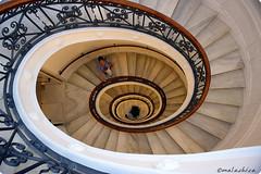Escalera de caracol. (malachica) Tags: escalera m3 caracol picado escaleradecaracol ltytr2 ltytr1 ltytr3 malachica