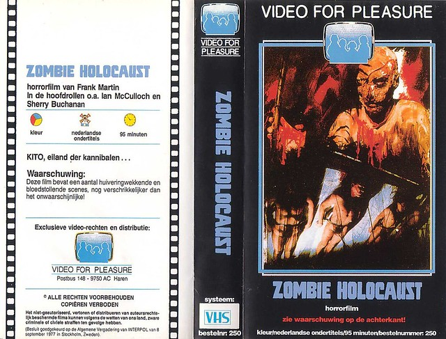 Zombie Holocaust (VHS Box Art)