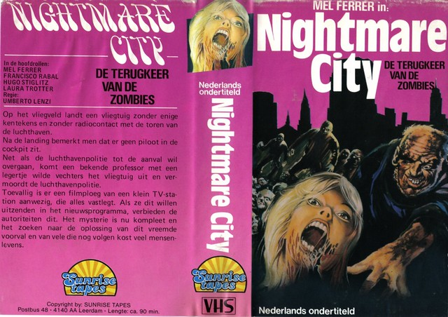 Nightmare City (VHS Box Art)