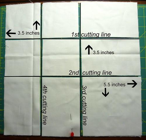 cutting lines bottom corner blocks