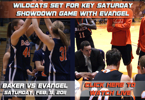 Basketball vs Evangel
