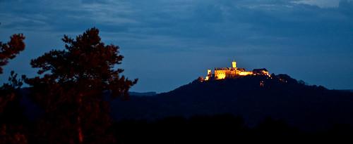 Eisenach - Wartburg - Nachtaufnahme