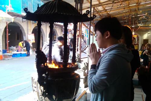 床墊秋刀魚造訪台北霞海城隍廟