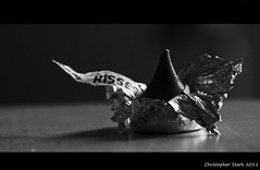"""Unwrap a smile"" [Explored] (skippys1229) Tags: blackandwhite bw home monochrome canon candy artistic florida chocolate kisses depthoffield explore hersheys wrappers tinfoil ocala hersheyskisses marioncounty depthoffocus explored ocalafl 18135mmlens ocalaflorida t1i canonrebelt1i unwrapasmile firstexploredshotever myfirstexploredshot"