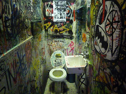 Mars Bar Bathroom, East Village, New York City 12