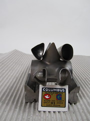 Columbus MS bb shell (bishopbikes) Tags: steel air sl columbusms lugs gilco slx multishape lugset