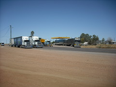 McKinlay NW Qld (LozF) Tags: truck eagle deluxe transport australia systems international freight coe constellation scania roadtrain oversize mcaleese westernstar cabover hillmans btriple 9900i