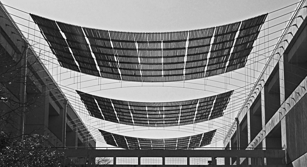UTSA shade awnings
