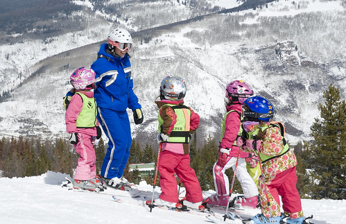 Kids Ski School at Vail