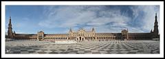 Plaza de España - Sevilla - Panoramica