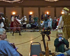 2011011503 (cj berry) Tags: canada children costume child sca young indoor battle medieval tournament event alberta gathering sword duel fighting reenactment rapier twelfthnight garb airdrie 12thnight societyforcreativeanachronism baronyofmontengarde