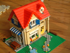 Lego mini house! (fairyfox) Tags: holiday diy furniture dollhouse minihouse legoblocks fairyfox