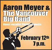 Aaron Meyer and The Vancouver Big Band