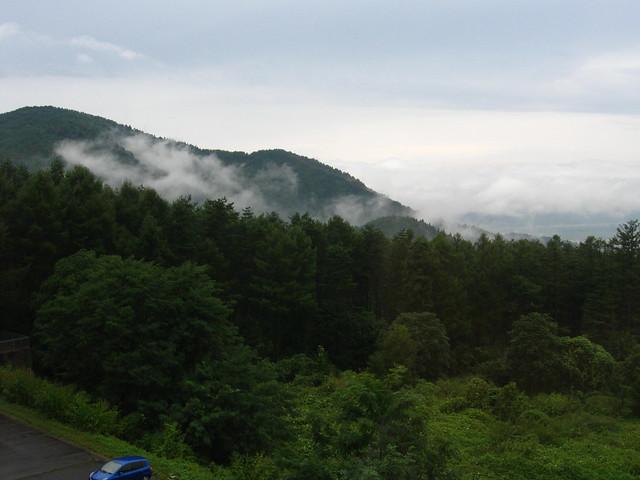 木島平の景色のフリー写真素材
