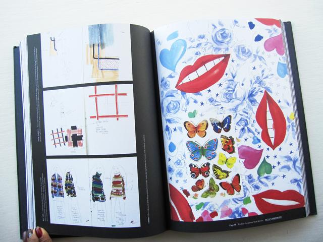 fashion designers sketchbook eley kishimoto