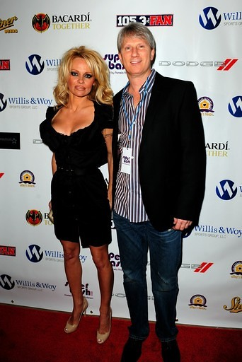 Pamela Andedrson & Jordan Woy by Willis & Woy Media Group