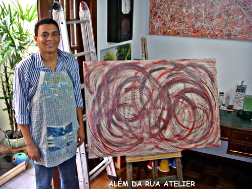 curso de pintura abstrata em tela