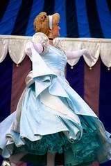 Cinderella (abelle2) Tags: princess disney disneyworld cinderella wdw waltdisneyworld magickingdom fantasyland disneyprincess dreamalongwithmickey dreamalong princesscinderella