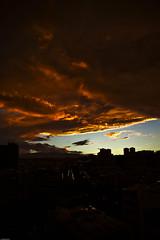 La virgen esta planchando (Jose Glez) Tags: sol azul canon de eos rojo y pueblo el cielo 7d todo puesta naranja nuebes