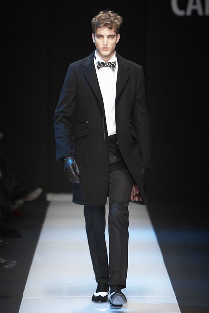 James Smith3257_FW11_Milan_Carlo Pignatelli Outside(Simply Male Models)