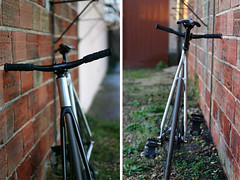 Rocket (Mounkayen) Tags: bike gear fork fixed fixie carbon titanium vlo fiets bicyle wr1 wellgo