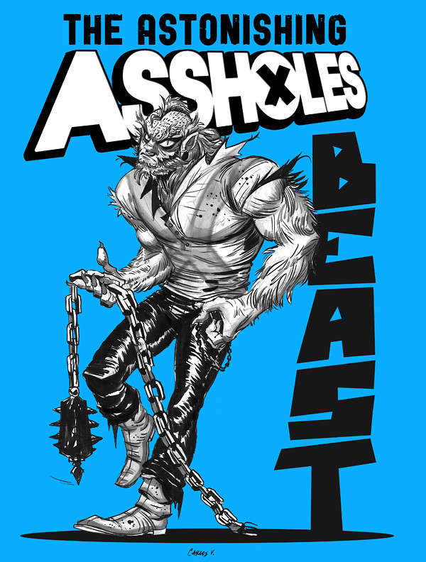 Astonishing Assholes-Beast