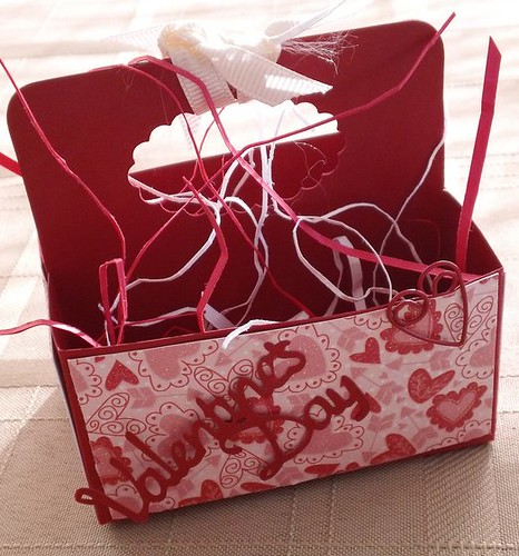 Stampin Up Valentine Treat Box