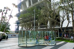 Morris' by Dan Graham, Miami Beach (jnwllmpls) Tags: city sculpture art miami outdoor dangraham