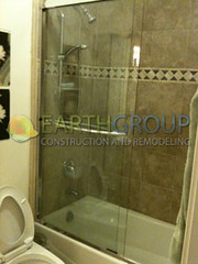 shower-remodeling_01 (Earthgroup Construction) Tags: door tile shower replacement installation bathtub fixture refinishing resurfacing