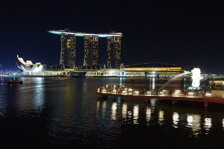 新加坡濱海灣金沙 Marina Bay Sands Singapore