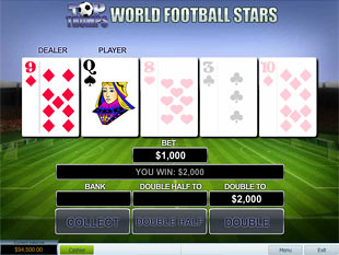 free Top Trumps World Football Stars slot gamble feature