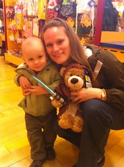 Build a Bear mission successful. Jedi bear acquired.
