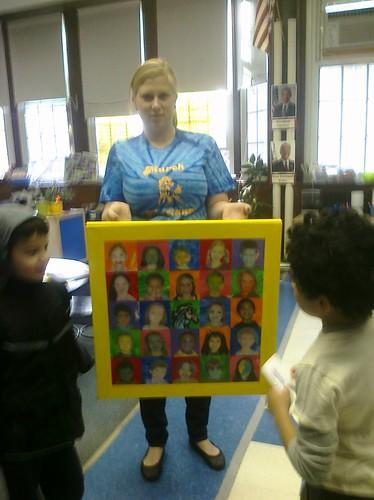Ms. Bogan's Warhol Piece