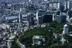 West View from N-Seoul Tower (InSapphoWeTrust) Tags: korea seoul southkorea 2008 韓國 서울 namsan 한국 대한민국 republicofkorea nseoultower 大韓民國