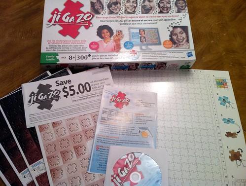Ji Ga Zo Puzzle - Contents