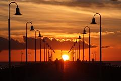 Sunset stroll (annalisabianchetti) Tags: sunset