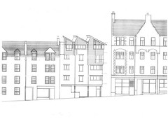 Canongate Housing North Elevation