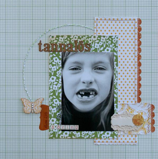 tannalös 6-åring