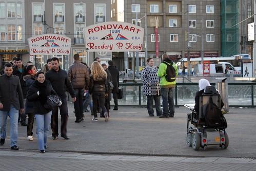 Acessibilidade em Amsterdam - Foto por Daniel Duclos