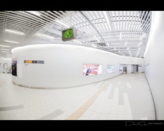 Spaceport (The Devil in the Detail) Tags: white station japan architecture modern tokyo design fisheye omiya
