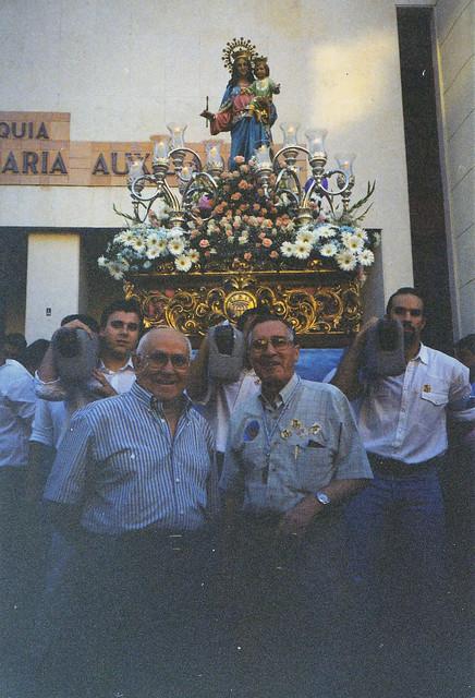 Procesión de María Auxiliadora 2002